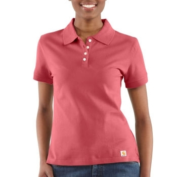 Carhartt ® Womens S/S Polo Shirt WK198