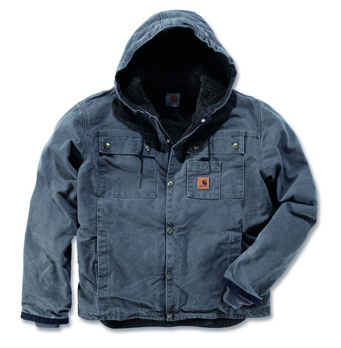 Carhartt ® Sandstone Hooded Multi Pocket Jacket J284
