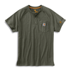 Carhartt ® FORCE Cotton Short Sleeve Henley 100413