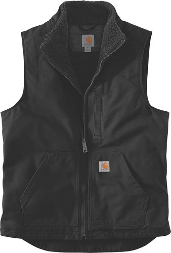 Carhartt ® Washed Duck Sherpa Lined Mock Neck Vest 104277