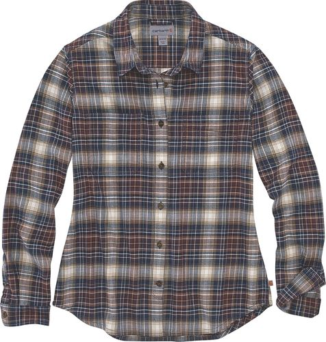 Carhartt ® Women Hamilton Plaid Flannel Shirt 104516