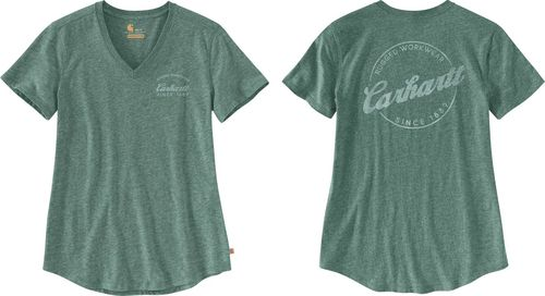 Carhartt ® Women Lockhart Graphic V-Neck T-Shirt 104227